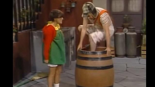 SHOW. El Chavo del 8 y la Chilindrina en uno de los episodios de la serie. | Foto/Captura de video.
