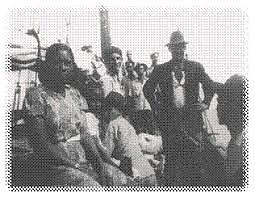 INVESTIGACIÓN. No pasaron dos meses cuando Petróleo Crudo se escapó de la isla por segunda vez y lo recapturaron siete meses después. En el expediente se recalca que la segunda fuga había sido más fácil. Se especulaba que Petróleo tenía pacto con el diablo. En el mundo del hamponato lo llamaban «el rey de las fugas».