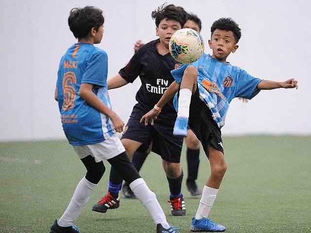 FÚTBOL. El evento deportivo sirve para apoyar al talento joven local
