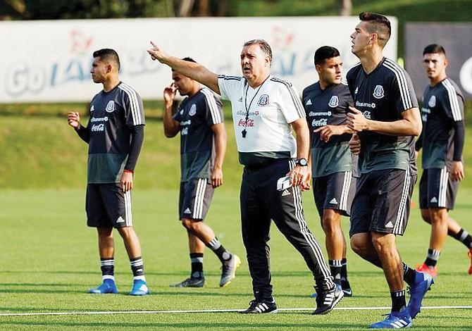 Selección Mexicana de Fútbol en Texas
