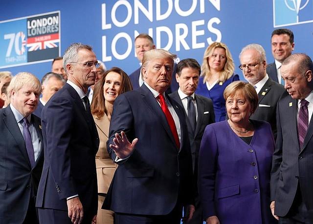 MUNDO | Los líderes de los países miembros de la OTAN se reunieron en Londres para una cumbre de dos días. | Foto: Efe.