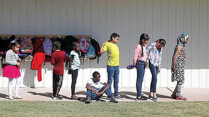 Escuelas para niños refugiados
