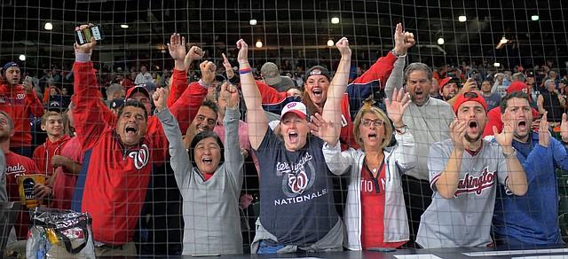 APOYO. La fanaticada debe estar ahí para inspirar a sus peloteros. | Foto: John McDonnell/The Washington Post
