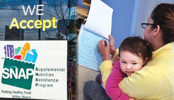 Ajustan los requisitos de trabajo para obtener ayuda alimentaria