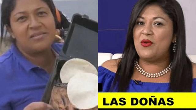 VIRAL. Miriam Celaya no escapa de las críticas tras su retorno a Honduras. | Foto: redes sociales.