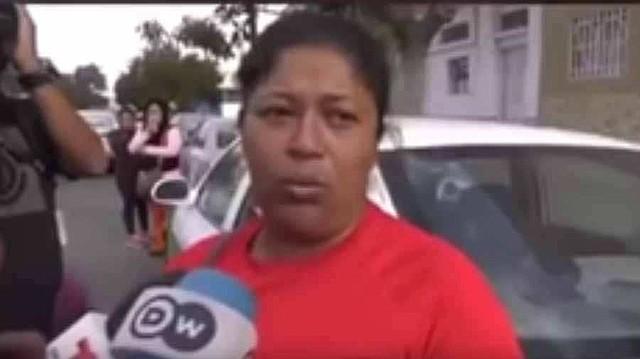 La migrante hondureña Miriam Celaya. Foto: captura de pantalla / elsalvador.com.
