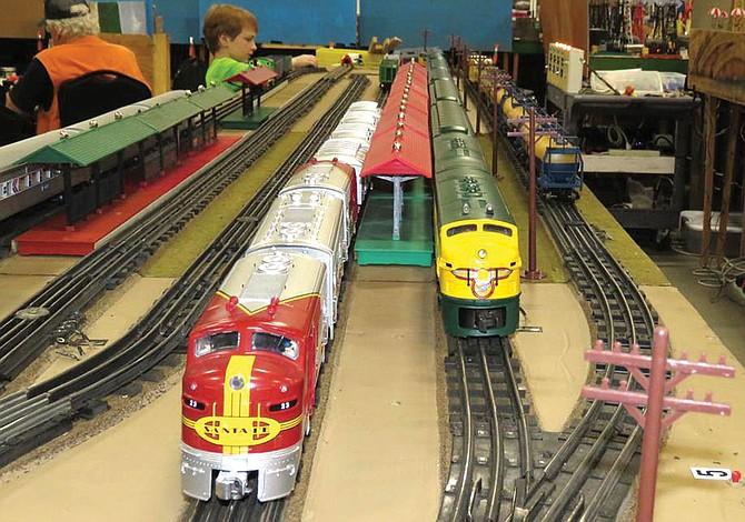 Exhibición de ferrocarriles miniatura