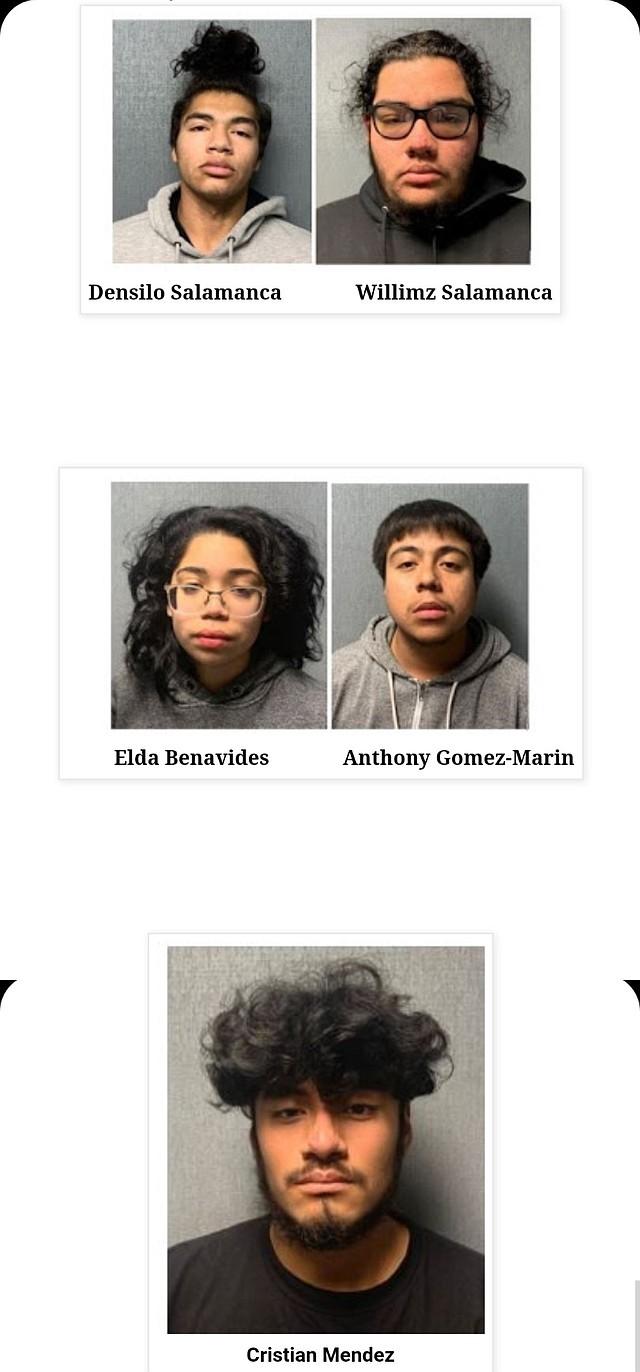 SUCESO. Todos los sospechosos son acusados como adultos. | Foto: Departamento de Policía de Prince George.