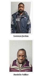 Imágenes de los acusados. | Foto: Policía de Prince George's .