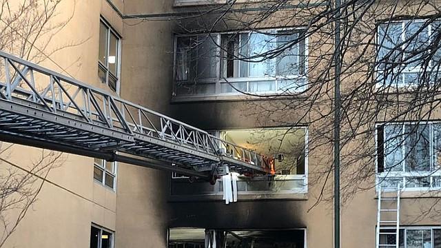 SUCESOS. Los residentes evacuados serán reubicados en otra vivienda. | Foto: Twitter @DC_Housing.