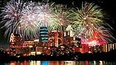 Gran celebración de Año Nuevo.