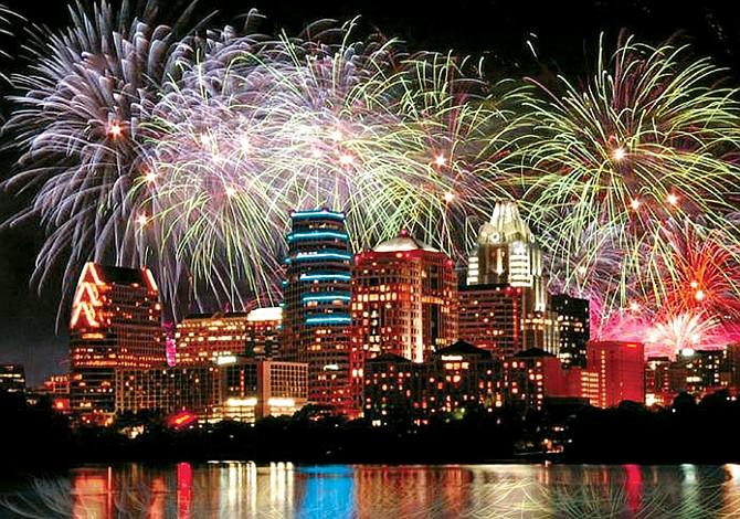 Gran celebración de Año Nuevo