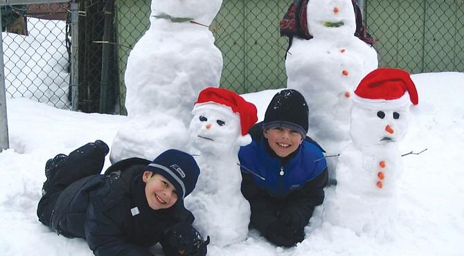 ¡Nieve en Georgetown!