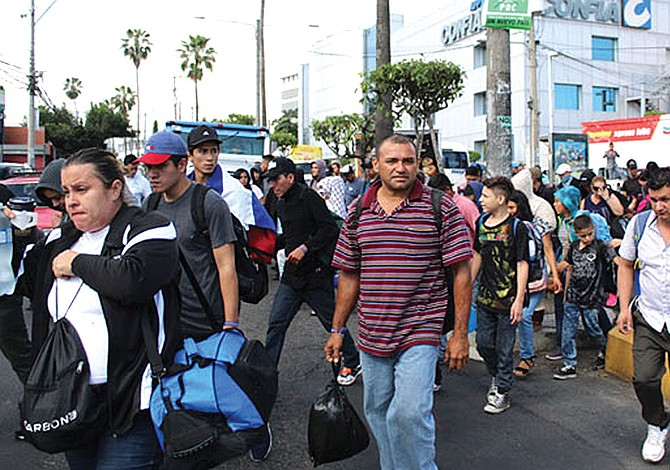 Récord de latinoamericanos desplazados