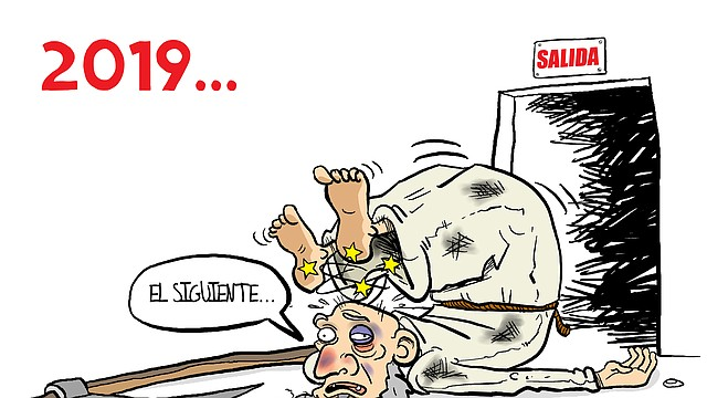 Caricatura   Año viejo