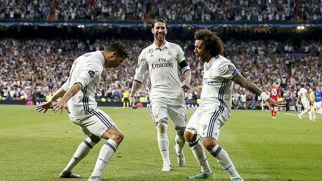 TRICAMPEONES. Real Madrid ganó tres Champions seguidas en el periodo. | Foto: Efe.