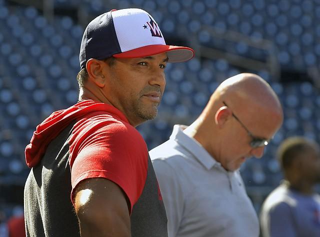 ESTUDIOSO. Dave Martinez tiene la tarea de armar un lineup competitivo. Foto: John McDonnell/The Washington Post