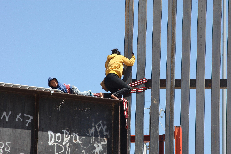 VIDAS. Migrantes centroamericanos podrían mejorar sus condiciones de vida en 2020 de acuerdo a la disposición de países involucrados.   CREDITO: EFE - David Peinado