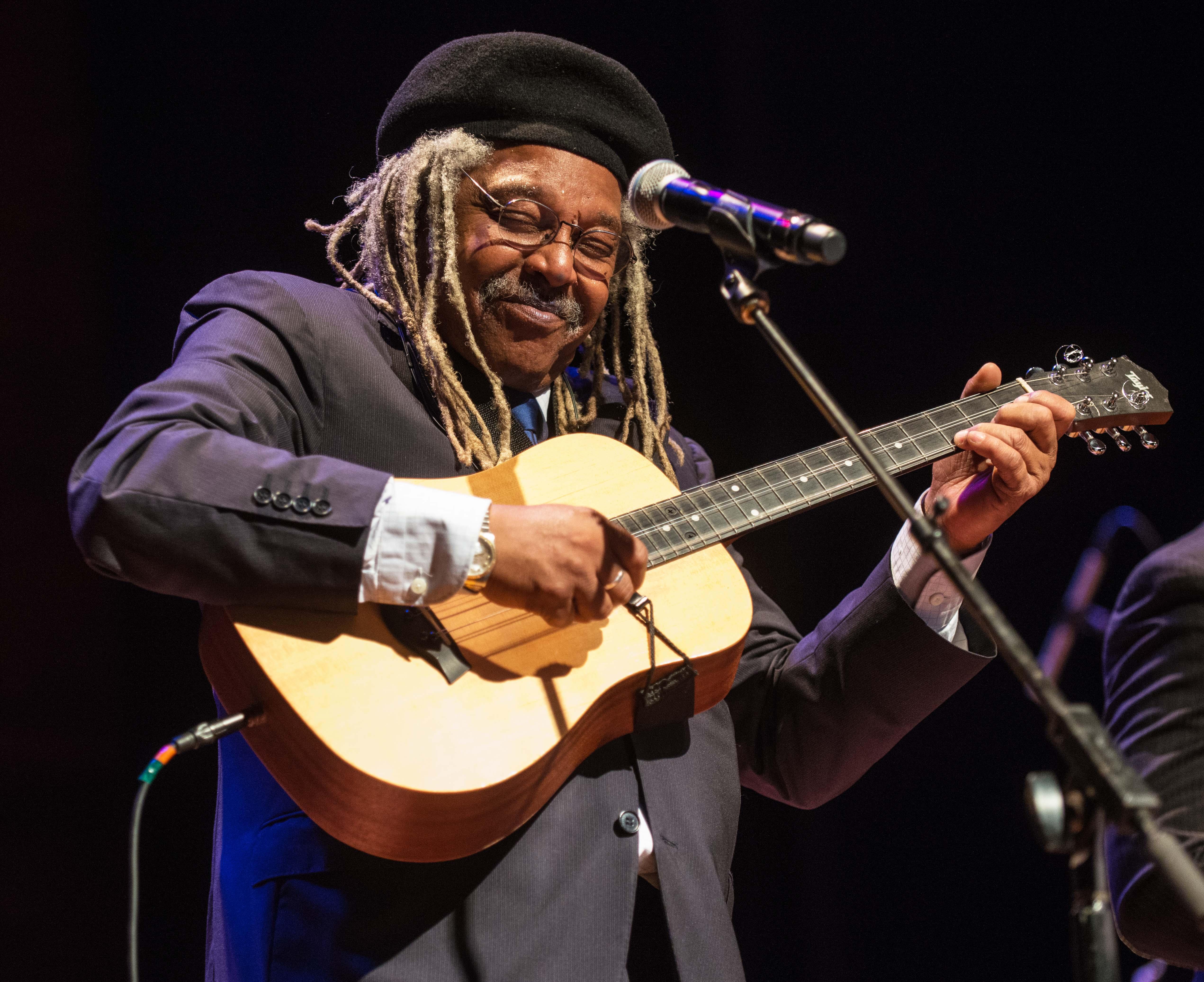 Juan de Marcos, director de la Afro-Cuban All Stars es un promotor de la cultura cubana.