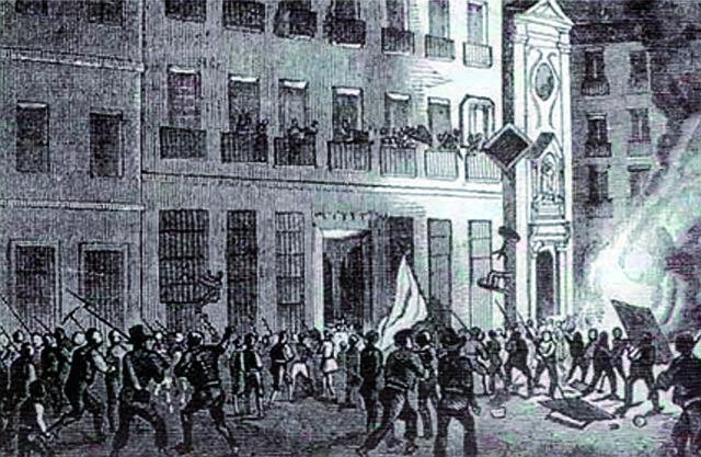 HISTORIA. Asalto al Congreso o Fusilamiento del Congreso de 1848