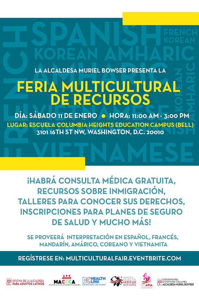 LOCALES. Feria de Recursos Multiculturales