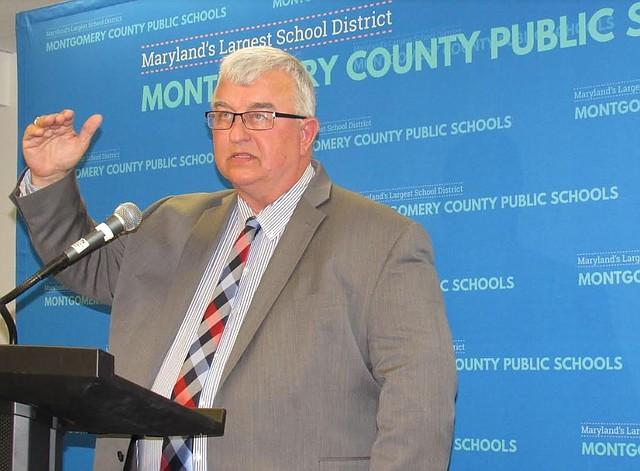 LÍDER. El superintendente de las Escuelas Públicas de Montgomery, Jack Smith, el martes 7 de enero. | CREDITO: Milagros Meléndez para ETL.