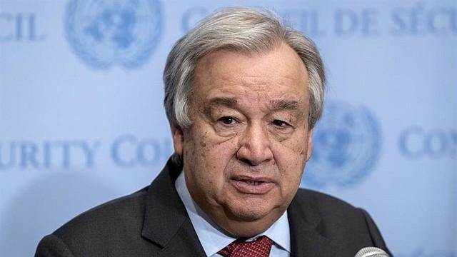 MUNDO. El secretario general de la ONU, António Guterres, ve como preocupante la situación en Irán. | Foto: Efe.