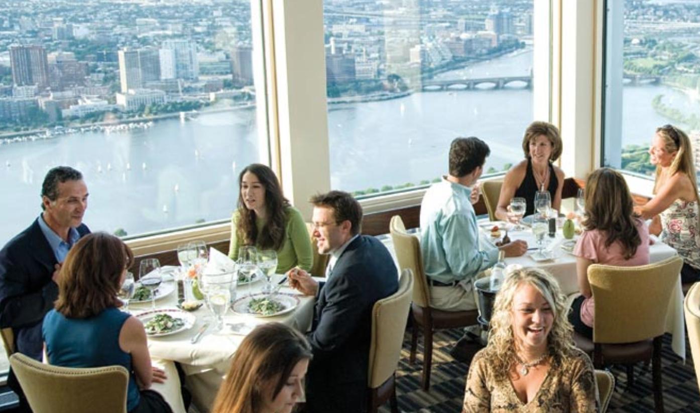 RESTAURANTE. Un restaurante de lujo que ha servido a sus comensales desde que el Pru abrió hace 54 años