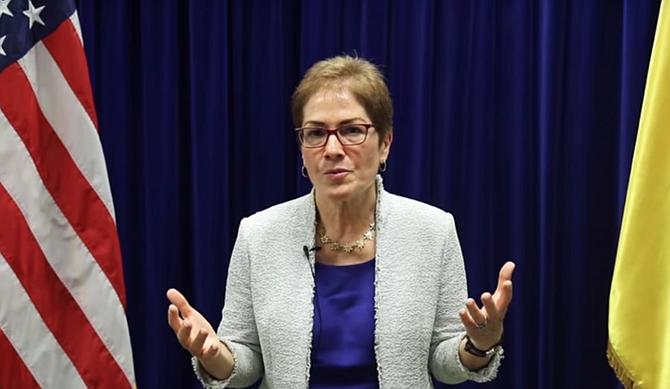POLÍTICA. Autoridades ucranianas anunciaron una investigación sobre la posible vigilancia de la embajadora estadounidense, Marie Yovanovitch