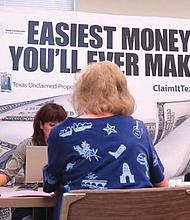 ATENCIÓN. Decenas de millones de dólares en bienes 'olvidados' por sus beneficiarios esperan por sus propietarios en las arcas del Texas Comptroller of Public Accounts. Recuperarlo es fácil.
