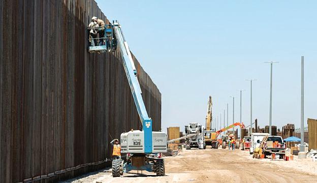 Siete mil millones más para construcción de muro fronterizo