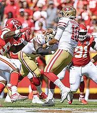 GRAN EXPECTATIVA. Chiefs y 49ers se enfrentarán en Miami en final sin precedentes. El equipo de San Francisco tiene más participaciones en finales de la NFL.