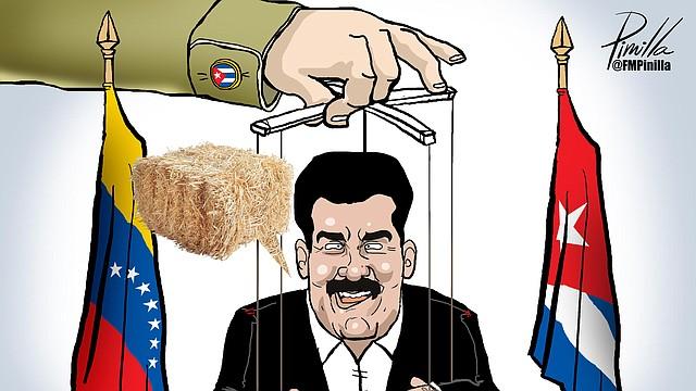 Maduro Marioneta | Por Fernando Pinilla - Twitter: @FMPinilla