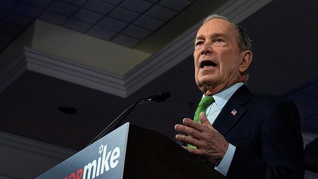 POLÍTICA. Michael Bloomberg es un aspirante a la Presidencia demócrata y ex alcalde de la ciudad de Nueva York. | Foto: Efe.