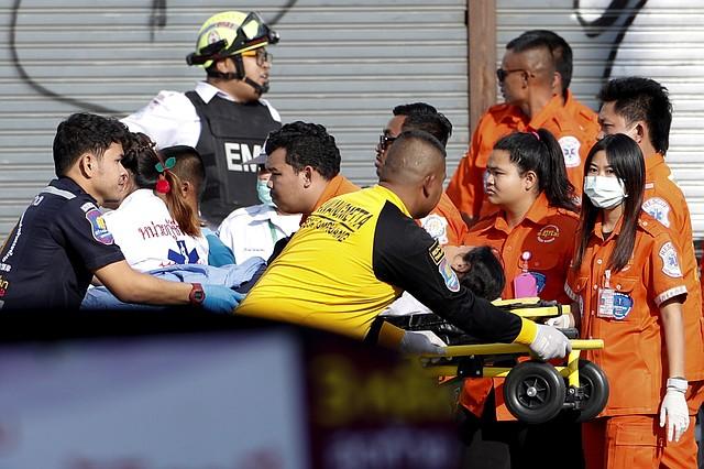 SUCESO. Ocho personas resultaron heridas de gravedad. | Foto: Efe.