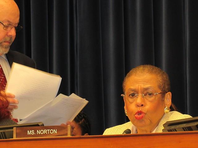 LÍDER. La representante Eleanor Holmes Norton ha impulsado el derecho al voto de DC en el Congreso, desde hace dos décadas