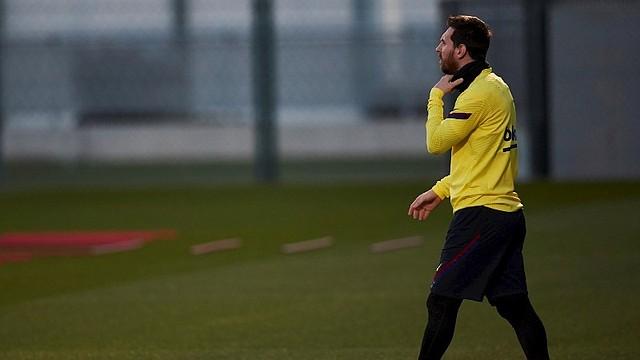 ÍDOLO. Pese a la decepción, Messi sigue siendo la referencia blaugrana / EFE