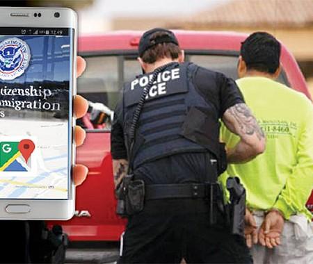 El Gobierno Federal utiliza servicios de localización de millones de teléfonos celulares para encontrar y detener a inmigrantes indocumentados, según una denuncia del Wall Street Journal.