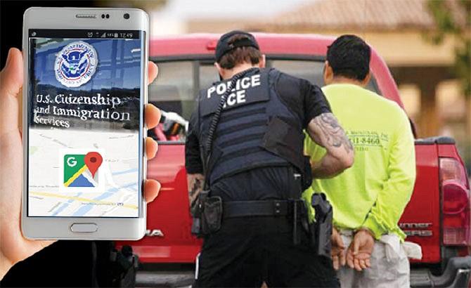 Detectan a indocumentados usando datos de localización de celulares