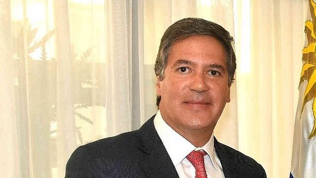 Fernando Sanclemente, embajador de Colombia en Uruguay