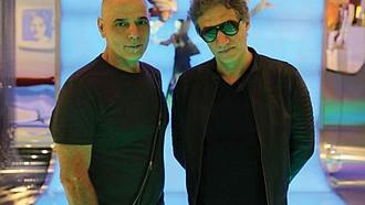 HOMENAJE. Zeta Bosio y Charly Alberti ofrecerán un recital con canciones de la legendaria banda Soda Stereo.