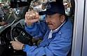 POLÍTICA. Daniel Ortega durante un acto público en julio de 2018. | Foto EDH/archivo.
