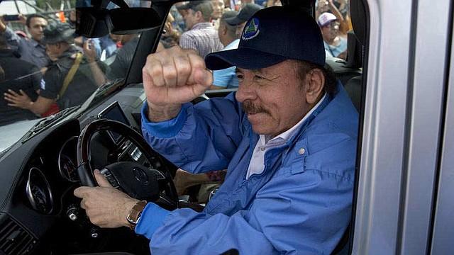POLÍTICA. Daniel Ortega durante un acto público en julio de 2018.   Foto EDH/archivo.