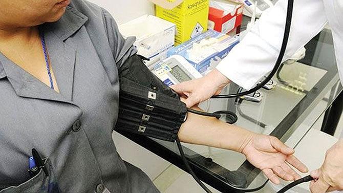 Revisiones médicas  en la Santa Bárbara