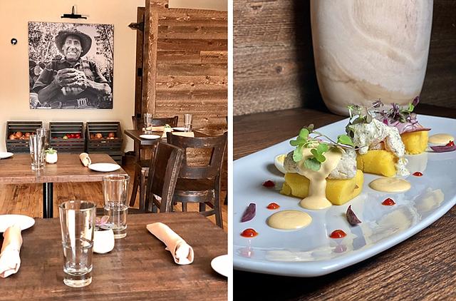 RESTAURANTE. Comer causa de mariscos (papa amarilla peruana con mariscos del día) y comida más tradicional en Chelsea en el Tambo 22 del chef José Duarte