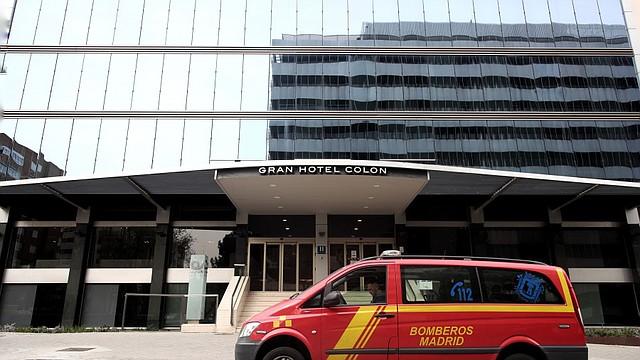 AYUDA. El hotel es el primero de 40 que se tiene previsto abrir, con capacidad para 9 mil plazas destinadas a pacientes menos graves.