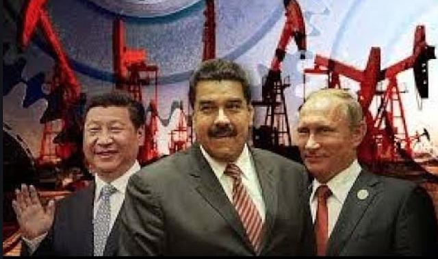 ALIADOS. China, Rusia y Venezuela