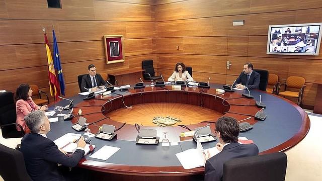 MUNDO. El jefe del Ejecutivo, Pedro Sánchez, preside este martes el Consejo de Ministros