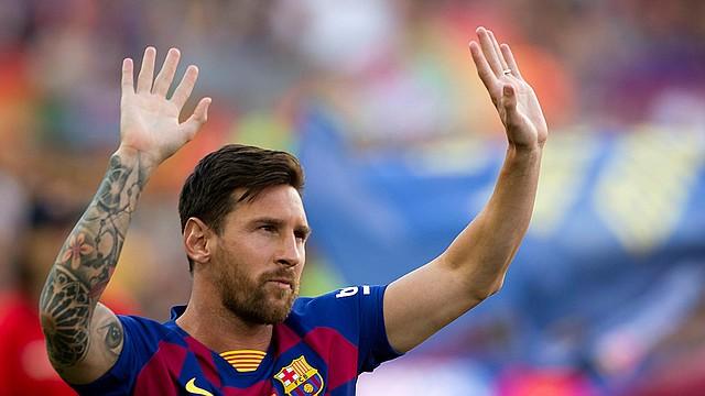APOYO. La cantidad destinada por Messi para la compra de material que ayude al tratamiento de enfermos por el coronavirus, asciende a un millón de euros entre dos hospitales.
