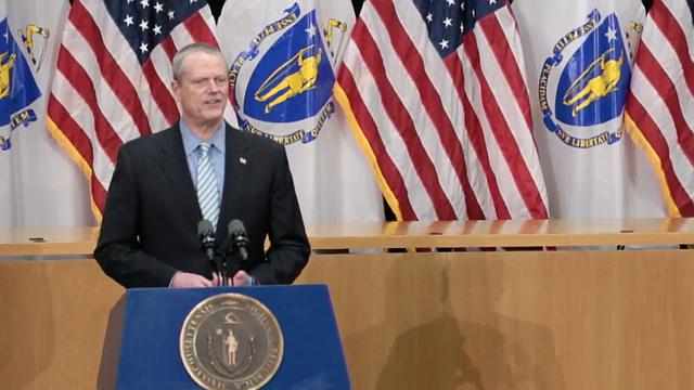 LOCAL. El Gobernador Baker ofrece en una rueda de prensa una actualización de la respuesta de la Administración al COVID-19